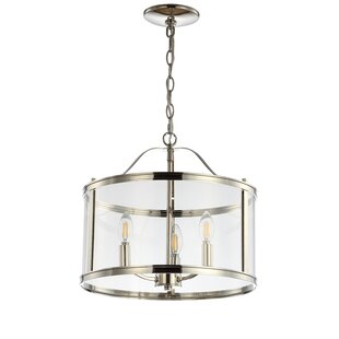 Mccrae 3-Light Lantern Pendant by Charlto..