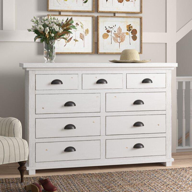 Lockridge 9 Drawer Double Dresser