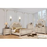 Whitaker Sleigh Configurable Bedroom Set by Astoria Grand