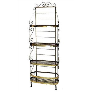 Karol Traditional Baker's Rack by Re..