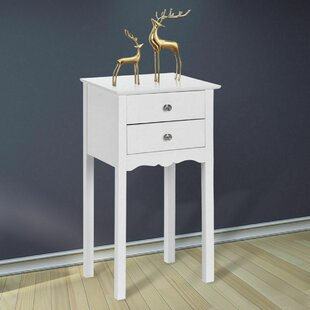 Volz 2 Drawer Nightstand