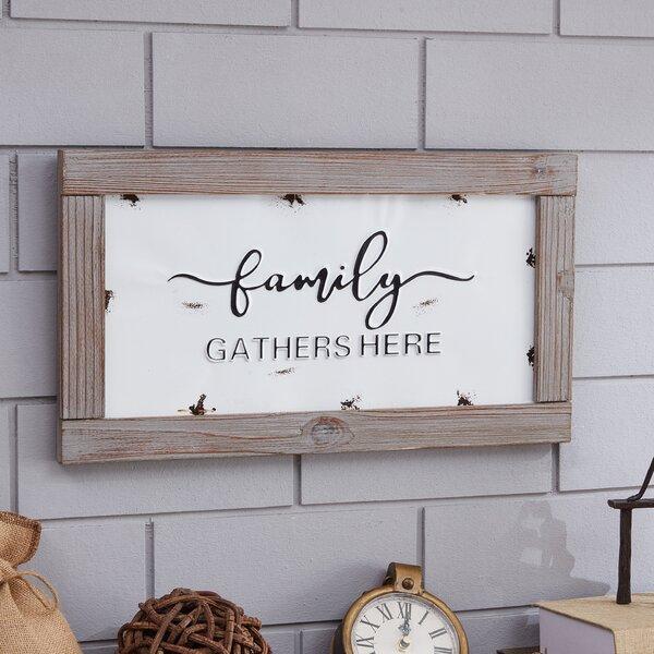 Family Quotes Wall Decor | Wayfair