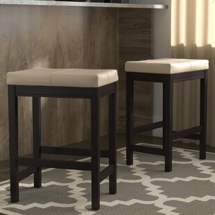 Justine 24 Bar Stool (Set of 2) Andover Mills