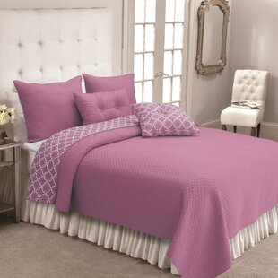Bremerton 100% Cotton 3 Piece Reversible Quilt Set