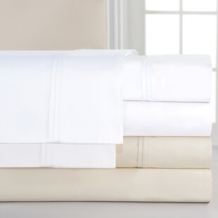 1000 4 Piece Thread Count 100% Cotton Sheet Set by Pointehaven Design