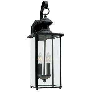 Burrows 2-Light Outdoor Wall Lantern