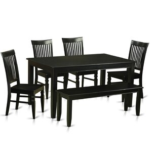 Araminta 6 Piece Dining Set by Alcott Hill Design
