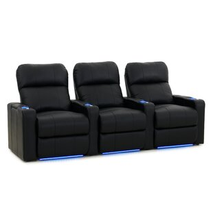 Latitude Run Sleek Home Theater Row Seating (Row of 3)