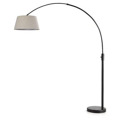 Brayden Studio Reed Adjustable 82 Arched Floor Lamp