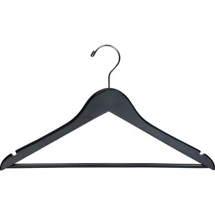 Black Wooden Hangers Youll Love In 2019 Wayfair