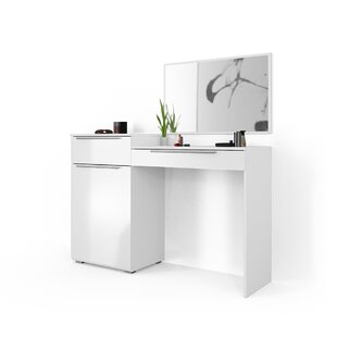 Belton Dressing Table With Mirror By Brayden Studio