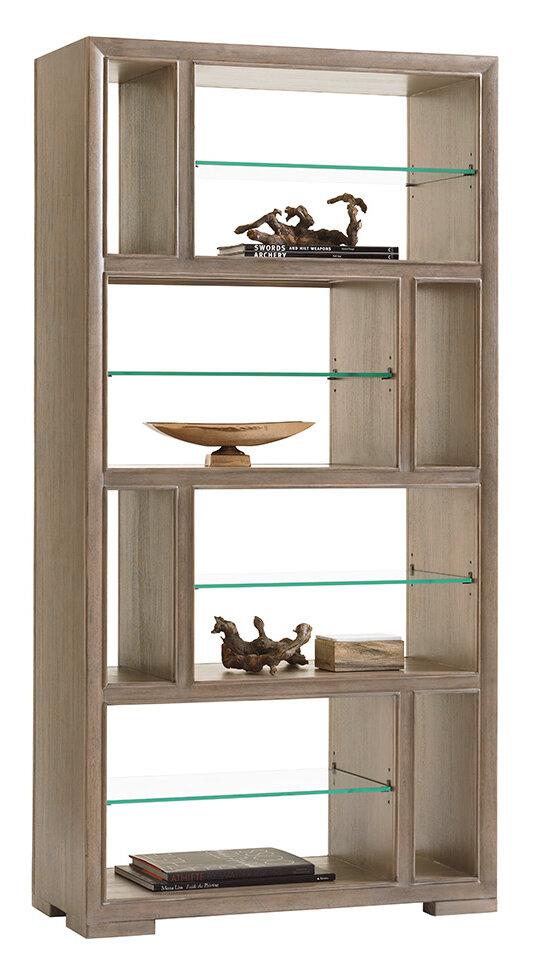 Lexington Shadow Play 80 H X 40 W Geometric Bookcase Wayfair