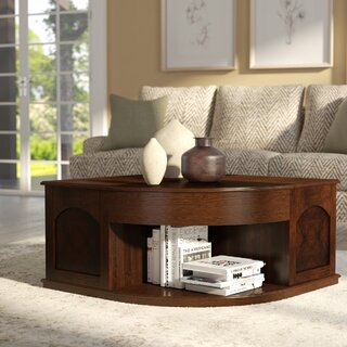 Weidler Double Lift Top Coffee Table with Tray Top by Red Barrel Studio SKU:EE143335 Purchase