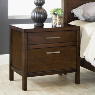 Middleton 2 Drawer Nightstand by World Menagerie