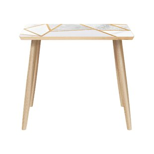 Read Reviews Meehan End Table by Ivy Bronx