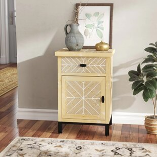 Eliza 1 Drawer 1 Door Accent Cabinet