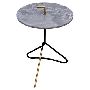Dinel End Table by Orren Ellis 2019 Sale