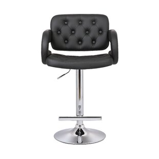 Adjustable Height Swivel Arm Bar Stool by..