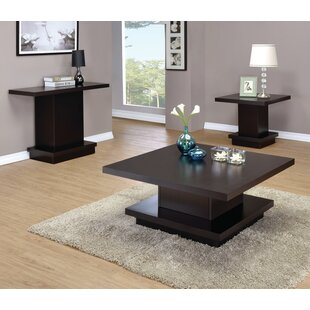 Kassidy 3 Piece Coffee Table Set Zipcode Design
