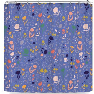 Akwaflorell Pretty Little Flowers 2 Single Shower Curtain