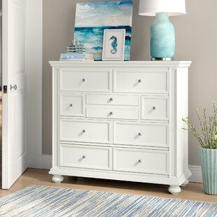 Beachcrest Home Marhill 9 Drawer Standard Dresser