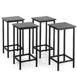Cliff 24'' Counter Stool (Set of 4) by 17 Stories