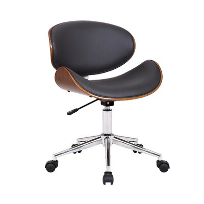 Faux Leather Gray Office Chairs You Ll Love In 2019 Wayfair