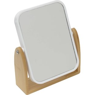 Great Price Magnifying Dual-Sided Pivoting Makeup/Shaving Mirror By Evideco