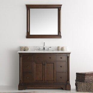 Kingston 49 Single Bathroom Vanity Set with Mirror by Fresca