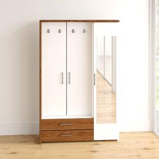 Kathleen 3 Door Wardrobe By 17 Stories