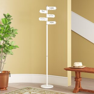 Review Famous Cities Signpost Coat Stand