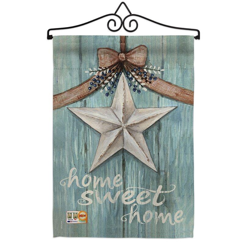 Breeze Decor Barn Star Impressions Decorative 2 Sided Polyester 19 X 13 In Flag Set Wayfair