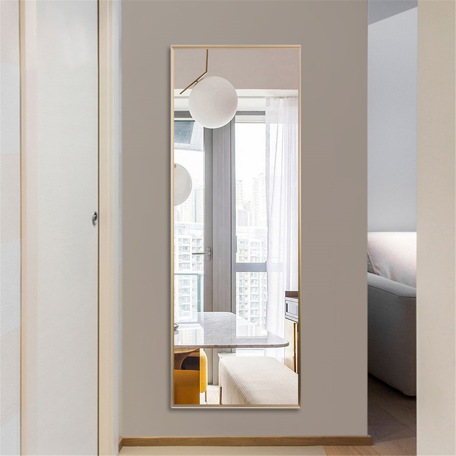 Gold Full Length Mirrors Free Shipping Over 35 Wayfair