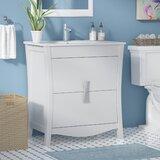 Karter Solid Wood Floor Mount 30 Single Bathroom Vanity Set by Ebern Designs