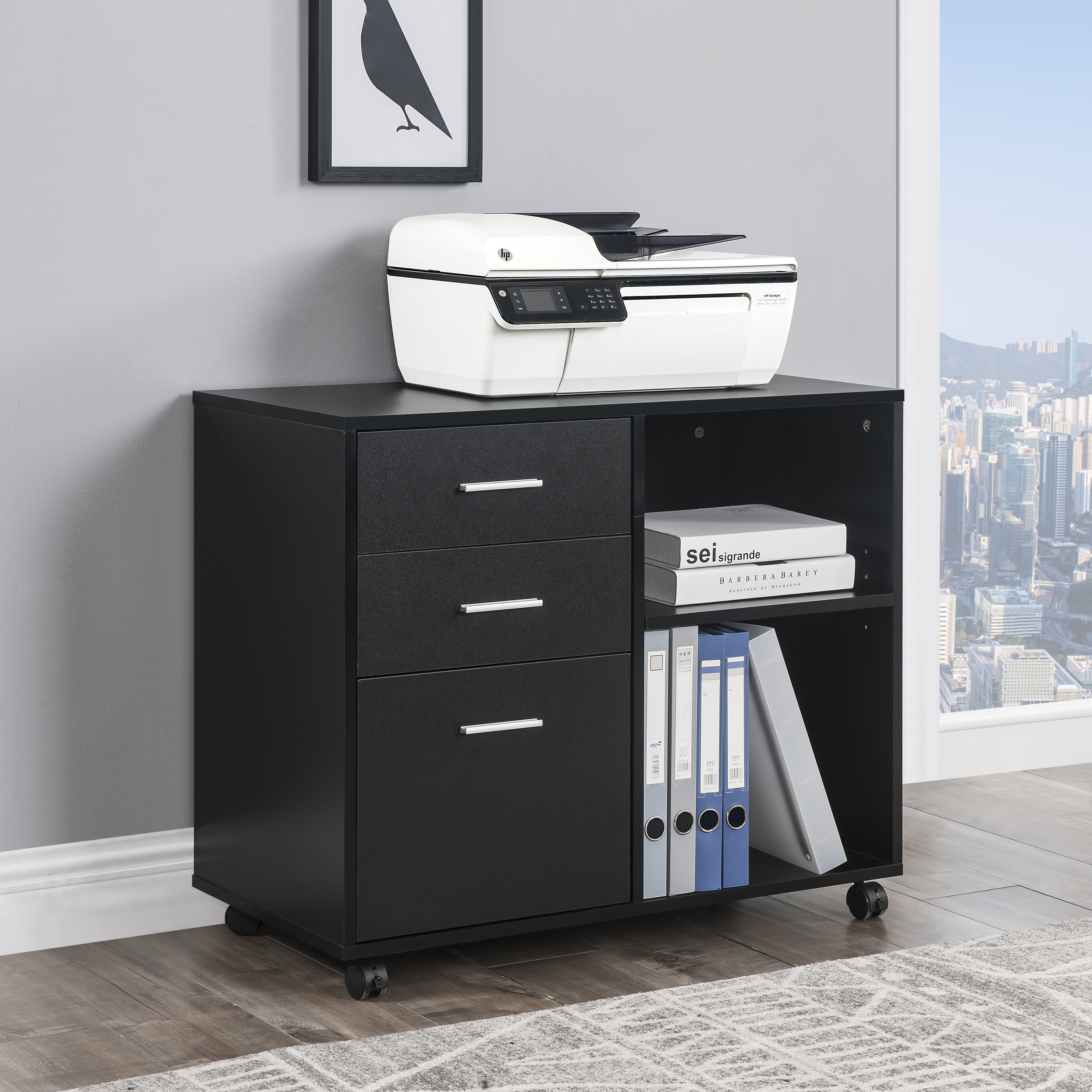 3 Drawer Mobile Lateral Filing
