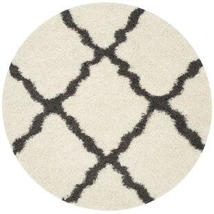 Charmain Ivory/Dark Gray Area Rug by Willa Arlo Interiors