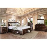 Benge Queen Sleigh 5 Piece Bedroom Set by Darby Home Co