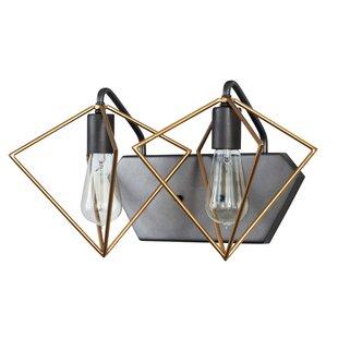 Where buy  Metropolis 2-Light Vanity Light By Varaluz