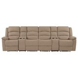 Rondon Reclining 125 Pillow Top Arm Sofa by Red Barrel Studio®