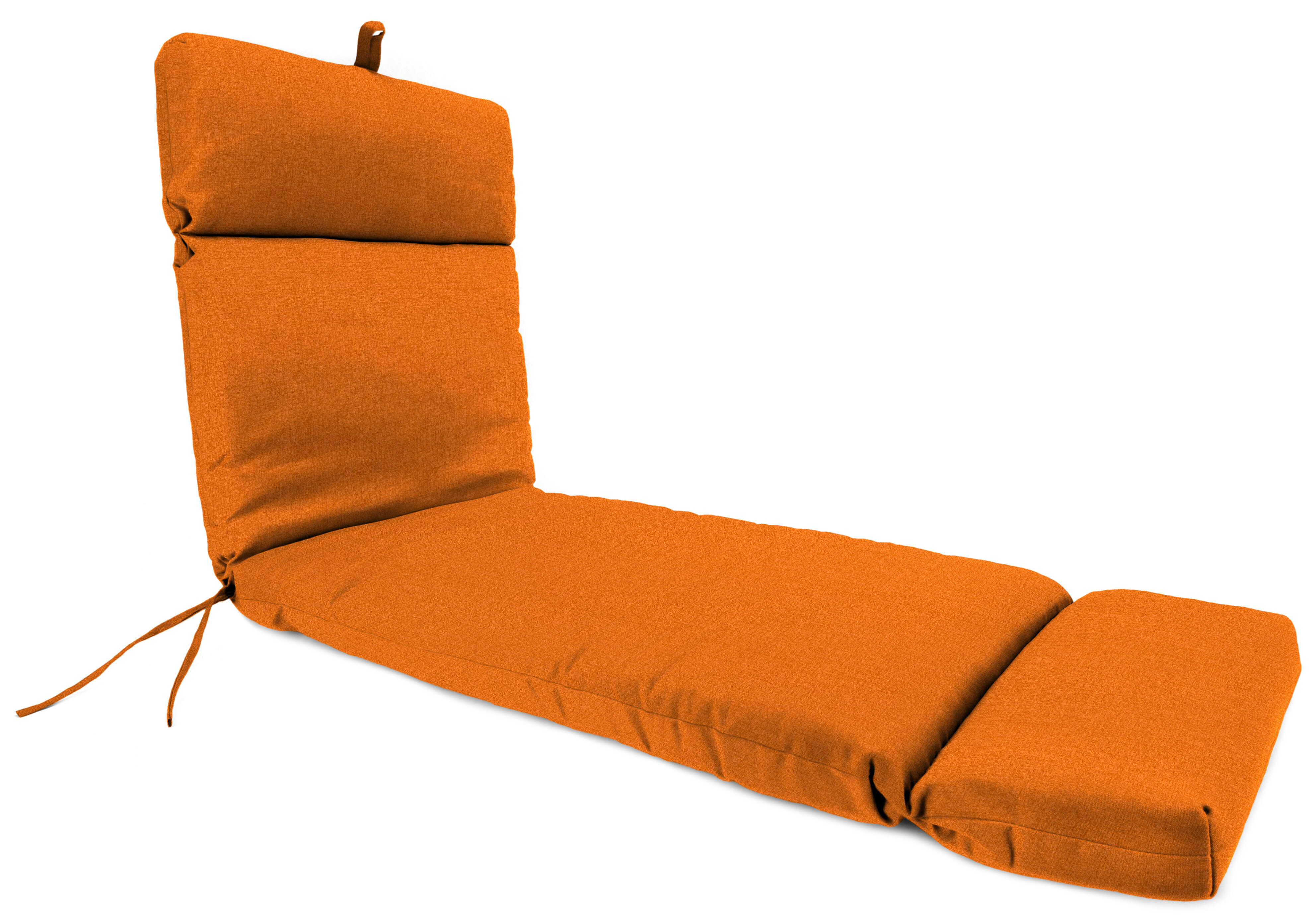 - Alcott Hill French Edge Indoor/Outdoor Chaise Lounge Cushion