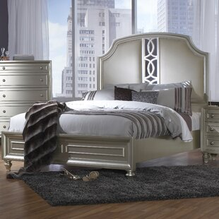 Anette Upholstered Panel Bed
