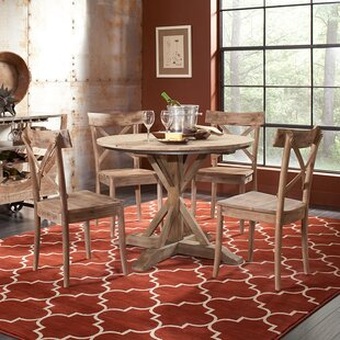 Dupre Wood Solid Wood Dining Table New Design