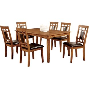 Molina 7 Piece Dining Set Hokku Designs