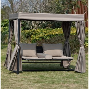Bakerhill Sun Lounger Set With Cushion by Canora Grey Coupon
