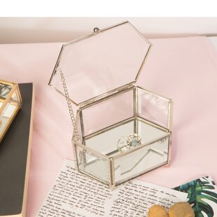 Home Vintage Mirrored Accessory Box By ElleDecor