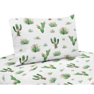 Sweet Jojo Designs Cactus Floral Sheet Set