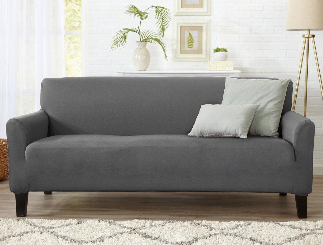 Beautiful Box Cushion Sofa Slipcover