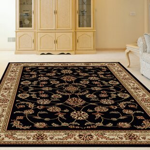 Searching for Weisgerber Black/Red/Taupe Area Rug ByAstoria Grand