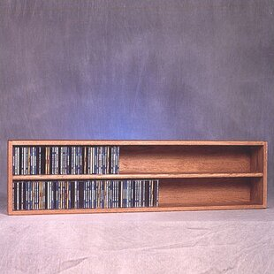 Wood Shed 200 Series 236 CD Multimedia Tabletop Storage Rack