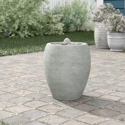 Sol 72 Outdoor Avery Concrete Garden Terrace Fountain Finish: Graystone